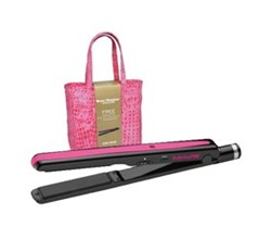 Straightening Irons Babyliss Pro Nano Titanium 1 Inch Flat Iron with Free Bag